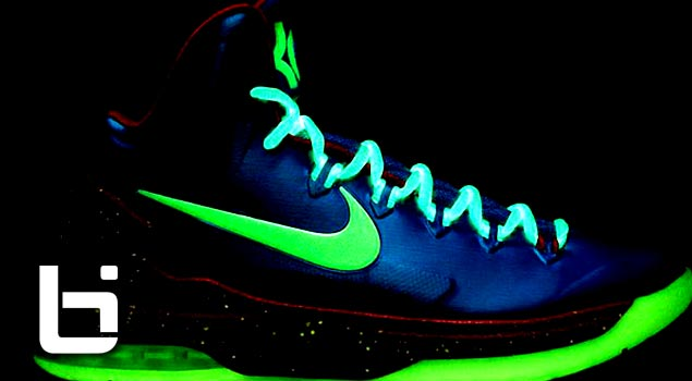 Nike KD V iD – Glow in the Dark