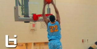 Andrew Wiggins Gets EYE Level With The Rim, has 4 SICK Dunks at the 2012 Charlotte Hoops Challenge!!