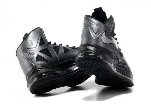 541100-001 Nike LeBron X Black Diamond Metallic Silver Anthracite_c-500x500