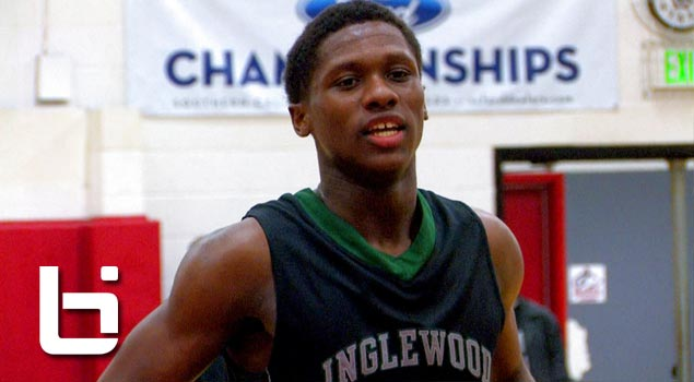 Brandon Randolph Brings The Truth Back To Inglewood High School! Xavier Bound PG Has GAME!