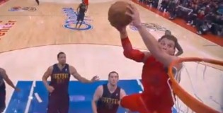 DeAndre Jordan Catches 1 Hand Alley-Oop ALL OVER Kosta Koufos! Nasty!! Blake Griffin With a Sick Oop Himself