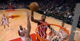 DeAndre Jordan Gets A Putback Dunk ON Blake Griffin!