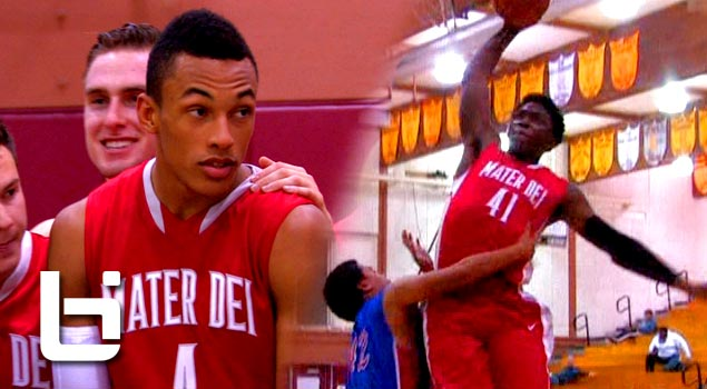 Stanley Johnson, Elijah Brown, Jordan Strawberry & Mater Dei DOMINATE At Ocean View TOC Mixtape!
