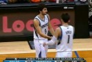 Ricky Rubio Sick Between The Legs Pass To Greg Stiemsma For The Layup! He's Back!