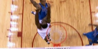 Dahntay Jones dunks on Patrick Patterson