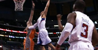 Blake Griffin 2 dunks against Suns including hammer on the Polish Hammer