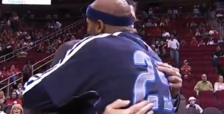 The Dallas Mavs welcome Kevin McHale back before the game | Harden wanted a hug too