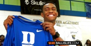 Watch Jabari Parker announce his college decision! (Official Ballislife Video)
