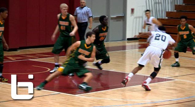 Marcus Lovett Jr Puts Defenders on Skates En Route To 34 Points!! Drops Defender To His Knees!!