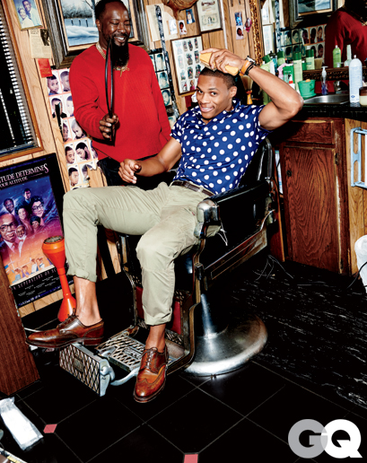 Russell Westbrook GQ Photoshoot