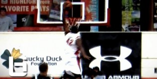 Justise Winslow Dunks ALL OVER The Defender! Knee to The Chest! Sick Poster at TPHS Holiday Classic!