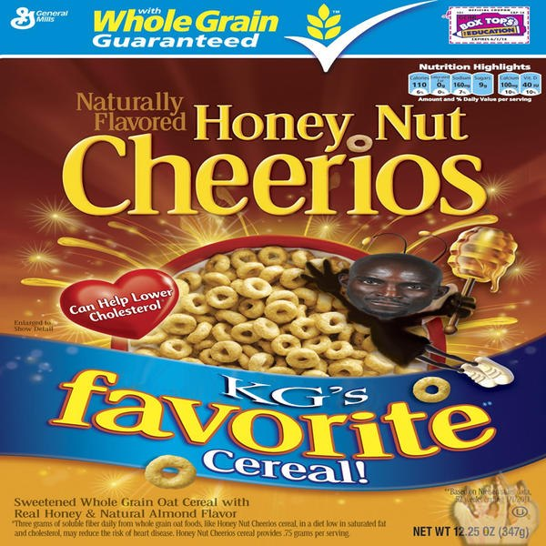 "3ffad3bdef01e KG Supposedly told Melo his wife Lala taste like ""Honey Nut Cheerios ..."