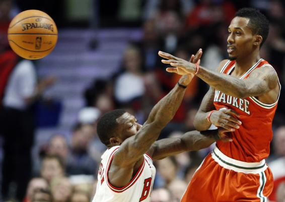 Brandon Jennings 35pt Postgame interview – says he warned Nate Robinson about trash talking