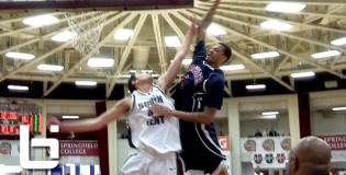 Chris McCullough Posterizes The Defender During 2nd Day of Hoophall Classic!