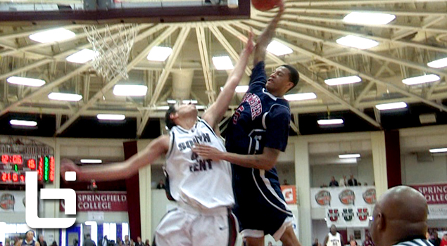 Ballislife | Chris McCullough Posterizes Defender at Hoophall