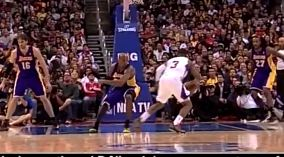 Chris Paul Crosses Up Kobe & Hits a Step-Back Jumper .. TWICE!