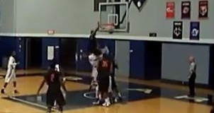 College Player Throws Down the NASTY Poster Dunk! Ex-Maryland Wing Mike Parker