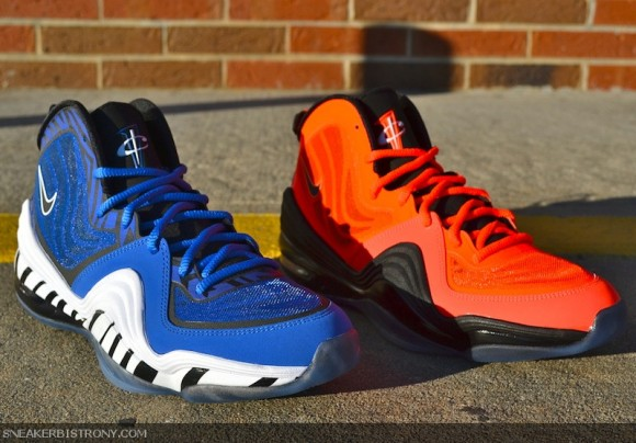 Nike-Air-Penny-5-Memphis-Tigers-and-Total-Crimson-