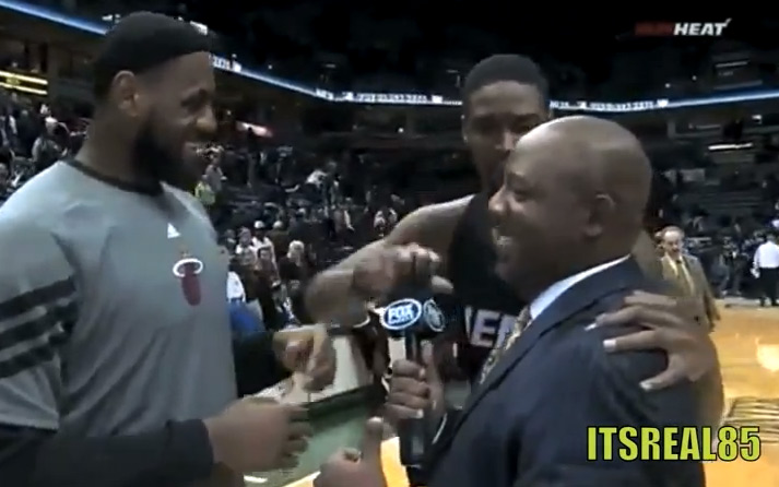 ItsReal: Kobe asked if he would take Kwame back, KG tells Rondo he can play & Bosh does what to the mic