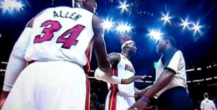 "LeBron Gets into it with refs at Bulls Game ""Don't talk to me like i'm yo kid"""