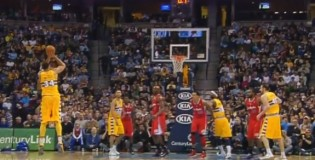 Javale McGee hits first 3 pointer of his career and ends Clippers 17 game winning streak