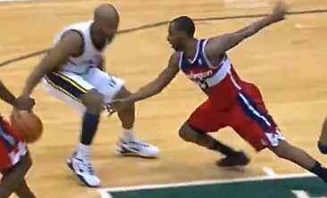 Jamaal Tinsley breaks AJ Price ankles & puts on a streetball exhibition against the Wizards