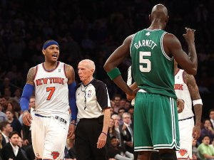 Doc Rivers calls Carmelo a liar / Jalen Rose defends KG's trash talking