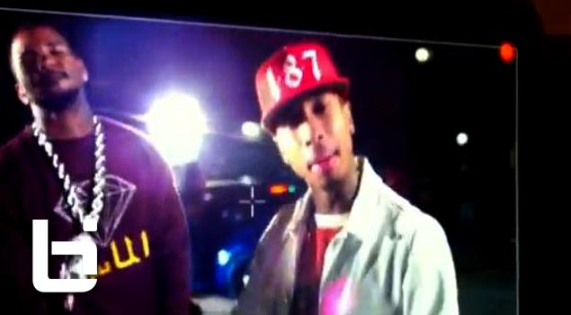 Behind The Scenes: Tyga ft. Game – Switch Lanes