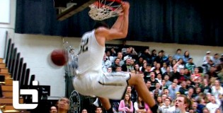 Aaron Gordon NASTY Off The Backboard Reverse Dunk + Drops Defender!!
