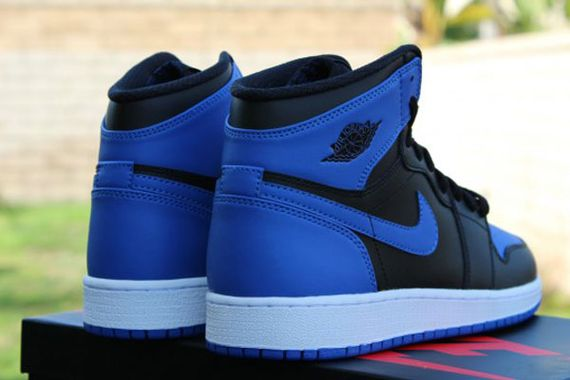 bbba12242d438b Air Jordan Retro Black Varsity Royal Blue - Ballislife.com