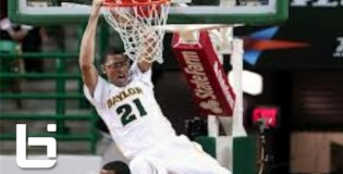 7'0″ Isaiah Austin With The Sick Dunk Off An Inbounds Pass against OU!