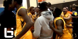 Jamal Mcdowells buzzer-beating fadeaway three stuns #2 Whitney Young to win Chicagos Red-West title (Orr Academy HS)