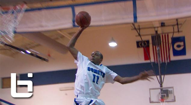 Gary Clark 6'7″ Junior Opens NC Playoffs: 40pts & 14reb