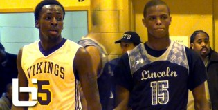 NYC's Top 2 Players Battle in Brooklyn for Title: Isaiah Whitehead (Lincoln) vs. UConn-bound Terrence Samuel (South Shore)