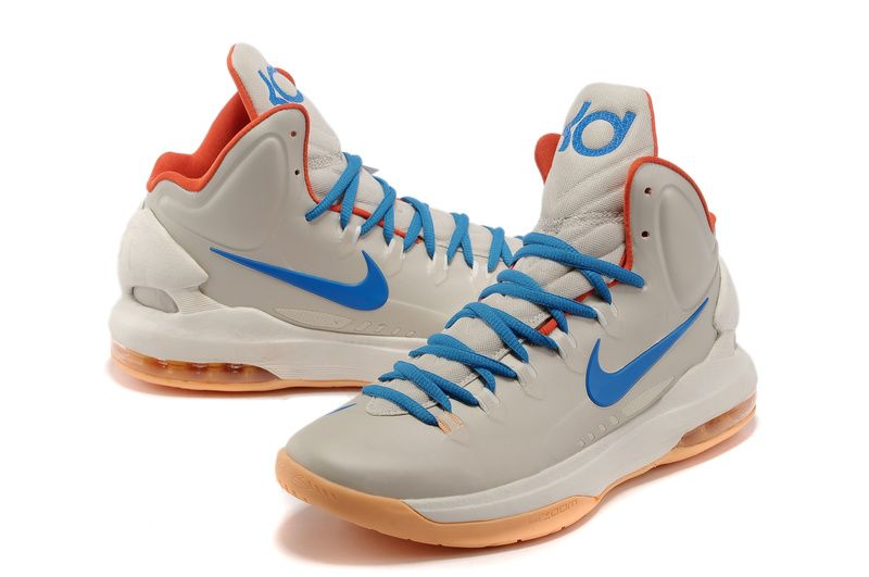 Nike Zoom KD 5 V Blue White Orange