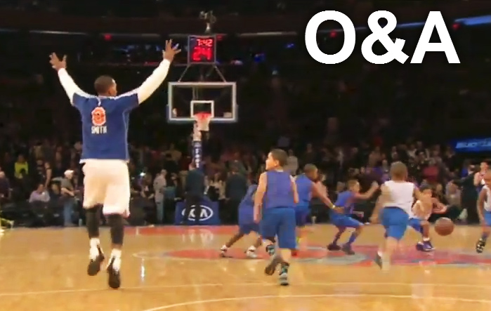 Kids wont pass to wide open JR Smith