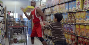 Great Geico commercial: Happier Than Dikembe Mutombo Blocking a Shot