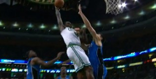 Jeff Green throws down the two best dunks of the night against Orlando