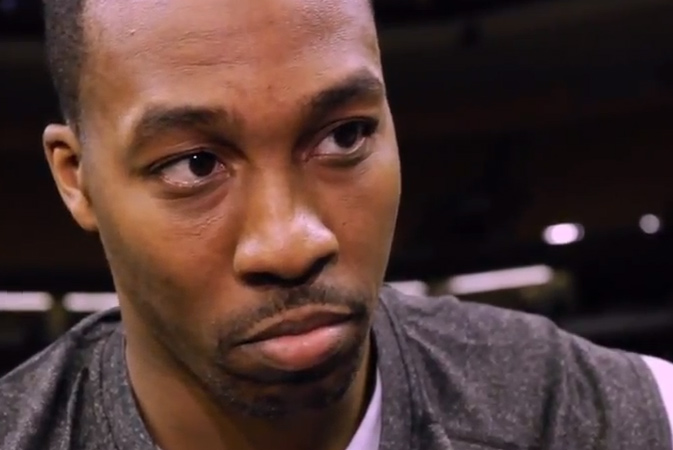 """Dwight Howard responds to Kobe saying """"we don't have time for Dwight's shoulder to heal"""" – """"He's not a doctor"""""""