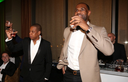 """Sprite Presents Shawn """"Jay Z"""" Carter And Lebron James Two Kings Dinner"""