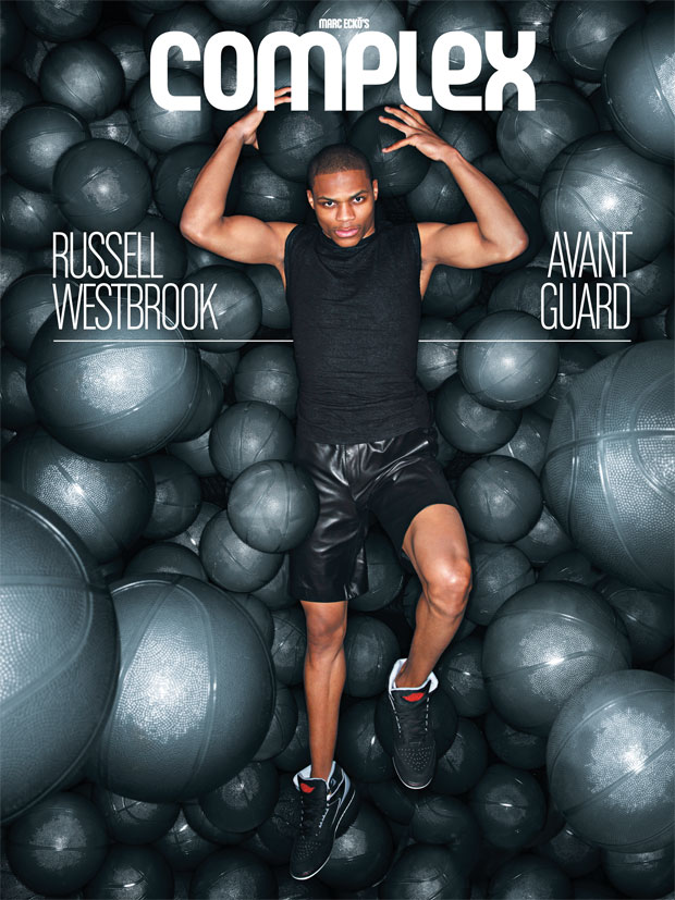 Russell Westbrook on the cover of Complex Magazine