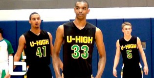 Ohio State commit Keita Bates-Diop shows unique range and skillset (7'2 wingspan)! Top 20 in 2014!