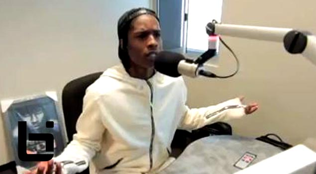 A$AP Rocky Is Pissed Off About Being Number 8 On Mtv List + Says He Should Be Ahead of Drake &Big Sean