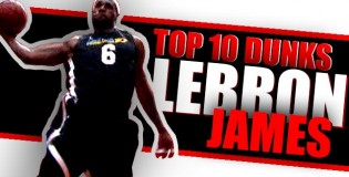 LeBron James 10 Best Dunks NOT In an NBA Game!