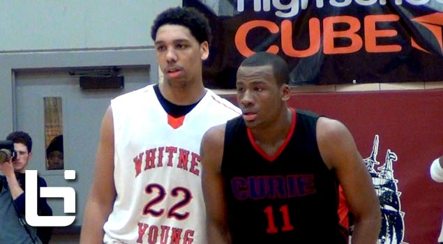 Jahlil Okafor vs Cliff Alexander in Chicago State Tourney | Ballislife Mix