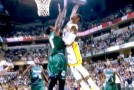 Paul George NASTY Poster Dunk ALL ON NBA's #1 Shotblocker Larry Sanders!!