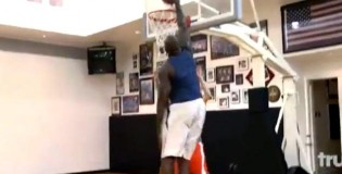 Shaq Gets Revenge on Aaron Carter | Dunks All Over His Face