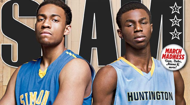 Andrew Wiggins & Jabari Parker On The Cover of SLAM Magazine!