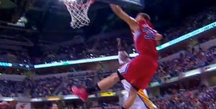 Blake Griffin posterizes Ian Mahinmi with the left hand | Best dunks on Ian