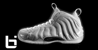 *NEW* Nike Air Foamposite White Metallic